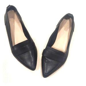 Aldo ▪️Galinsky Black Leather Loafers - SZ 7. 5